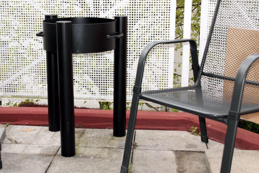 balkon feuerschale top feuerschale feuerkorb grill balkon terrasse eisen massiv camping with. Black Bedroom Furniture Sets. Home Design Ideas
